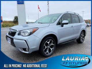 Used 2015 Subaru Forester 2.0XT PREMIUM AWD for sale in Port Hope, ON