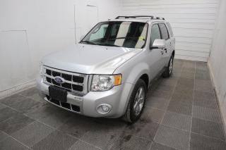 Used 2011 Ford Escape Limited for sale in Winnipeg, MB