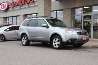 Used 2010 Subaru Forester 2.5 X Limited Package SUNROOF | BLUETOOTH | AWD for sale in Cobourg, ON