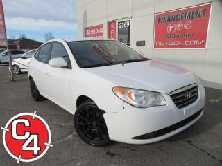Used 2009 Hyundai Elantra GL MANUELLE A/C CRUISE MAGS for sale in St-Jérôme, QC