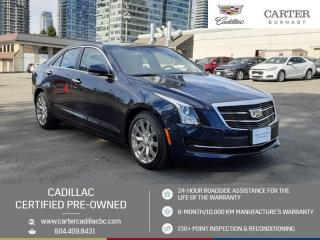 Used 2017 Cadillac ATS 2.0L Turbo Luxury ONE OWNER! - NO ACCIDENTS - GPS Nav - Power Moonroof for sale in Burnaby, BC