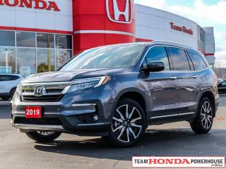 Used 2019 Honda Pilot Touring--1 Owner--No Accidents--Fully Loaded--7P--Navi--Rear DVD for sale in Milton, ON