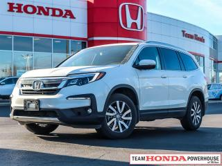Used 2019 Honda Pilot EX-L Navi EX-L--1 Owner--No Accidents--Leather--Navi--AWD for sale in Milton, ON