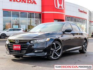 Used 2019 Honda Accord Sport 2.0T--1 Owner--No Accidents--Backup Camera--Heated Seats--Remote Starter for sale in Milton, ON