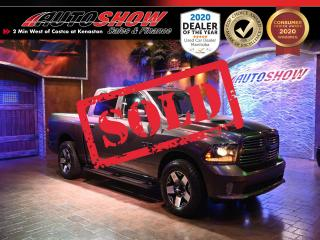 Used 2015 RAM 1500 Hemi Sport - Sunroof, Nav, Htd Lthr, R.Start !! for sale in Winnipeg, MB