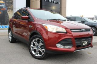 Used 2016 Ford Escape SE ALL WHEEL DRIVE CERTIFIED for sale in Hamilton, ON
