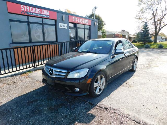 2009 Mercedes-Benz C-Class 3.0L|4MATIC|LEATHER|SUNROOF