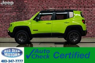 Used 2017 Jeep Renegade 4x4 Trailhawk BCam Level Kit for sale in Red Deer, AB