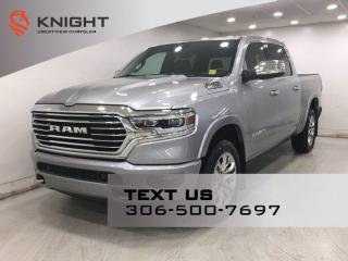 New 2021 RAM 1500 Longhorn Crew Cab | Leather | Sunroof | Navigation | for sale in Regina, SK
