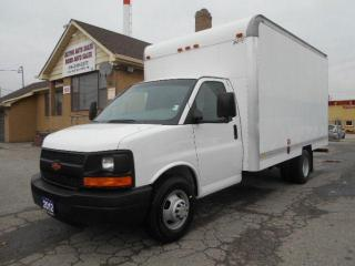 Used 2012 Chevrolet Express 3500 14Ft Aluminium Cube Van Loaded ONLY 109,000Km for sale in Etobicoke, ON