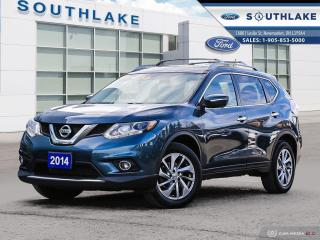 Used 2014 Nissan Rogue SV AWD|LEATHER|ROOF for sale in Newmarket, ON