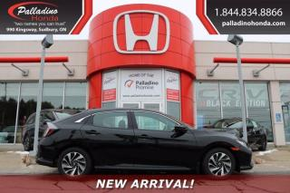 Used 2017 Honda Civic Hatchback LX for sale in Sudbury, ON