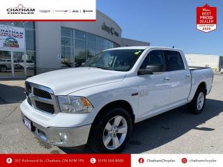 Used 2018 RAM 1500 SLT Nav/Heated Seats and Wheel/Back up Cam for sale in Chatham, ON