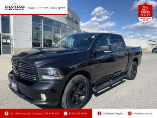 Used 2017 RAM 1500 Sport Heated and Vented Seats/Nav/Leather for sale in Chatham, ON