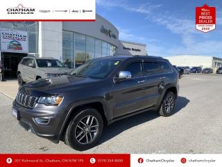 Used 2018 Jeep Grand Cherokee LIMITED 4X4 for sale in Chatham, ON
