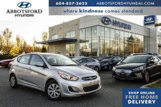 Used 2015 Hyundai Accent GL  - Bluetooth -  Heated Seats - $77 B/W for sale in Abbotsford, BC