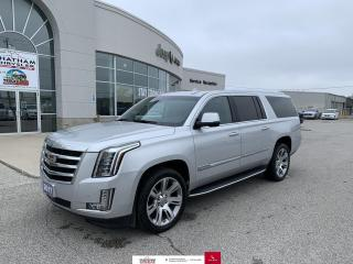 Used 2016 Cadillac Escalade ESV 4WD 4DR PREMIUM COLLECTION for sale in Chatham, ON