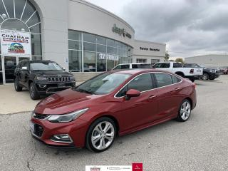 Used 2017 Chevrolet Cruze Premier Auto Nav/Sunroof/Heated Seats for sale in Chatham, ON