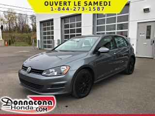 Used 2015 Volkswagen Golf 1.8 TSI Trendline *JAMAIS ACCIDENTE* for sale in Donnacona, QC