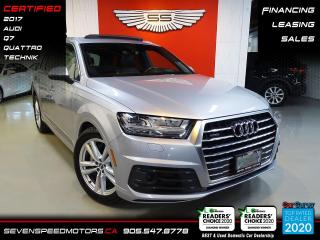 Used 2017 Audi Q7 TECHNIK | 7PASS | ACCIDENT FREE | FINANCE @ 4.65% for sale in Oakville, ON