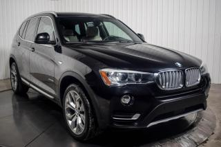 Used 2017 BMW X3 X DRIVE 35i SPORTLINE CUIR TOIT PANO GPS CAMERA for sale in St-Hubert, QC