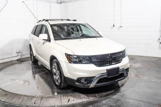 Used 2017 Dodge Journey CROSSROAD AWD CUIR TOIT NAV TV/DVD 7 PAS for sale in St-Hubert, QC