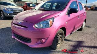 Used 2015 Mitsubishi Mirage 2015 MIRAGE ES PLUS /AUTO/AIR CLIM/GARANTIE 10ANS for sale in St-Hubert, QC