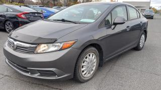 Used 2012 Honda Civic EX AUTO TOIT CRUISE BLUETOOTH 58.02$/SEM for sale in Sorel-Tracy, QC