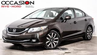 Used 2013 Honda Civic Touring NAVI+CUIR+TOIT.OUVRANT for sale in Boisbriand, QC