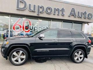 Used 2014 Jeep Grand Cherokee 4 RM, 4 portes, Limited for sale in Alma, QC
