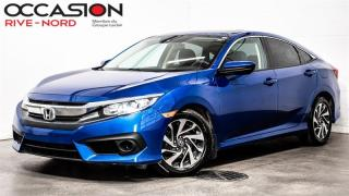 Used 2018 Honda Civic EX HONDA.SENSING+MAGS+TOIT.OUVRANT+CAM.RECUL for sale in Boisbriand, QC