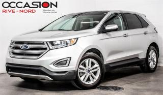 Used 2017 Ford Edge SEL TOIT.PANO+CAM.RECUL+SIEGES.CHAUFFANTS for sale in Boisbriand, QC