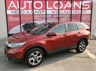 Used 2018 Honda CR-V EX-ALL CREDIT ACCEPTED for sale in Toronto, ON