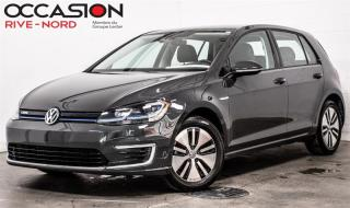 Used 2019 Volkswagen Golf e-Golf Comfortline CUIR+MAGS+CAM.RECUL for sale in Boisbriand, QC