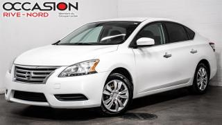 Used 2013 Nissan Sentra SV BLUETOOTH+A/C+GR.ELECTIQUE for sale in Boisbriand, QC