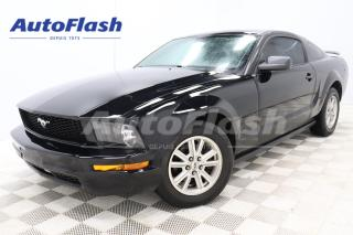 Used 2005 Ford Mustang V6 COUPE* M6* PREMIUM* CUIR/LEATHER* for sale in Saint-Hubert, QC