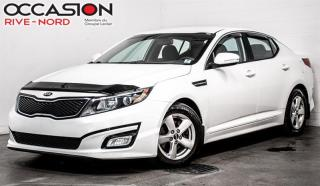 Used 2015 Kia Optima LX MAGS+SIEGES.CHAUFFANTS+BLUETOOTH for sale in Boisbriand, QC
