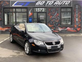 Used 2010 Volkswagen Eos Comfortline for sale in Regina, SK