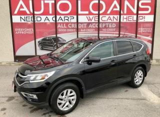 Used 2016 Honda CR-V EX-L-ALL CREDIT ACCEPTED for sale in Toronto, ON