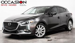 Used 2017 Mazda MAZDA3 Sport GT TOIT.OUVRANT+MAGS+SIEGES.CHAUFFANTS for sale in Boisbriand, QC