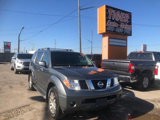 2006 Nissan Pathfinder Off-Road*LEATHER*LOADED*NEWER TRANSMISSION*AS IS