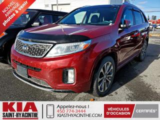 Used 2015 Kia Sorento SX V6 AWD ** NAVI / CUIR / TOIT for sale in St-Hyacinthe, QC