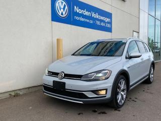 Used 2018 Volkswagen Golf Alltrack ALLTRACK - DRIVERS ASSIST / LIGHT + SOUND PKG for sale in Edmonton, AB
