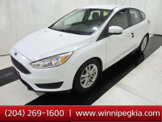 Used 2016 Ford Focus SE *Collision Free, Always Owned In MB!* for sale in Winnipeg, MB