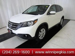 Used 2014 Honda CR-V EX-L *Always Owned In MB!* for sale in Winnipeg, MB