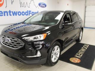 Used 2020 Ford Edge SEL 201A | AWD | 2.0L Ecoboost | Auto Start/Stop | Power Heated Seats | Heated Steering Wheel | Lane Keeping System | Pre-Collision Assist | Reverse Camera/Sensing System | Navigation | for sale in Edmonton, AB