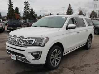 New 2020 Ford Expedition Platinum 600A | 4x4 | 3.5L Ecoboost | Heated/Ventilated Seats | Forward and Reverse Sensing System | Reverse Camera System | Heated Steering Wheel | Navigation | Moonroof for sale in Edmonton, AB