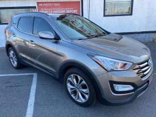 Used 2014 Hyundai Santa Fe Sport Limited ** AWD, NAV, BACK CAM , HTD/COOLED LEATH ** for sale in St Catharines, ON