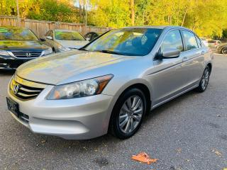 Used 2011 Honda Accord EX-L for sale in Mississauga, ON