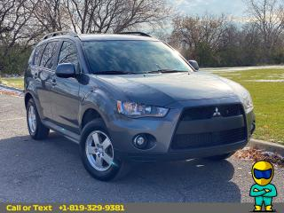 Used 2011 Mitsubishi Outlander ES for sale in Ottawa, ON